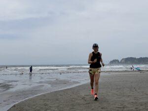 「ナイキ ズーム フライ3」ランin材木座海岸