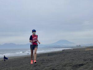 「ナイキ ズーム フライ3」ランin江の島