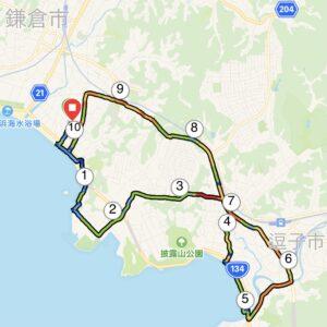 """8月25日(水)【10.52km(5'49"""")】MAPのみ"""