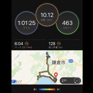 "9月10日(金)【10.12km(6'04"")】MAP"
