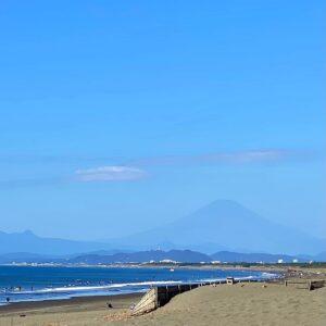 富士山に冠雪なし