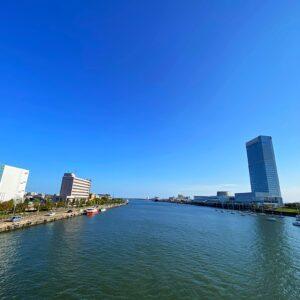 信濃川沿いランコース