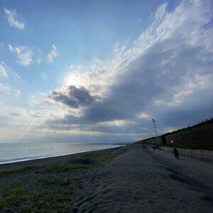 茅ヶ崎のビーチ