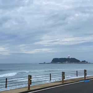 江の島が近い5km地点